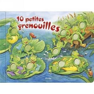 10 petites grenouilles