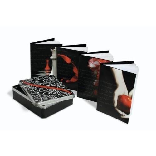 Le coffret Twilight - 4 carnets souvenirs