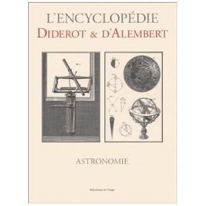 L'encyclopédie Diderot et D'Alembert - Astronomie