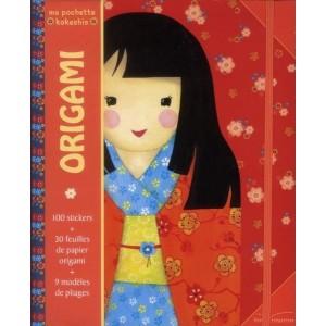 Origami - Ma pochette Kokeshis
