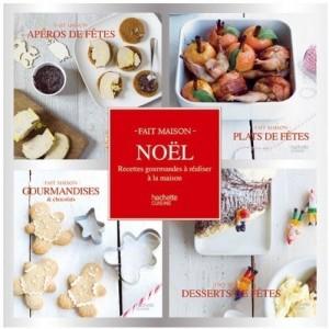 Noël - Recettes gourmandes à réaliser à la maison, 4 volumes