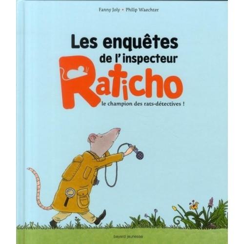 Les enquêtes de l'inspecteur Raticho le champion des rats-détectives !