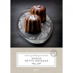 Cartes postales gourmandes - Exquis petits gâteaux