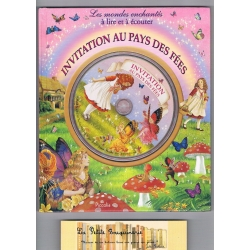 Invitation au pays des fées + 1CD audio