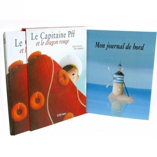 Le capitaine Pff et le dragon rouge - Coffret Album + Un journal de bord