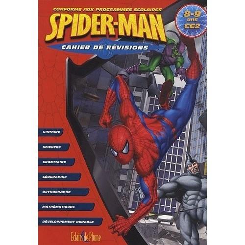 Cahier de révisions Spiderman - 8/9 ans CE2