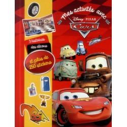 Mes activités avec Cars et plus de 250 stickers