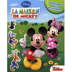 La Maison de Mickey - Coloriages, jeux et stickers