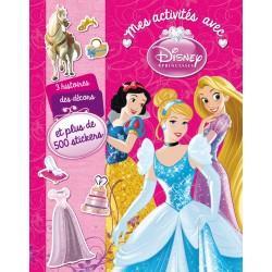 Mes activités avec Disney Princesses et plus de 250 stickers