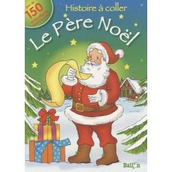 Le Père Noël - Histoire à coller