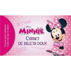 Minnie - Carnet de billets doux