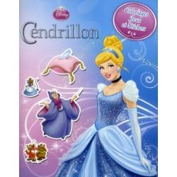 Disney Princesses - Cendrilllon - Coloriages, jeux et stickers