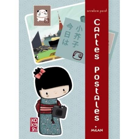 Cartes postales - Kokeshi