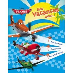 Mes vacances avec Planes - Jeux et activités, jeu de cartes, plus de 200 stickers