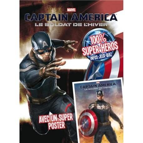 Captain America, Le soldat de l'hiver - Avec un super poster