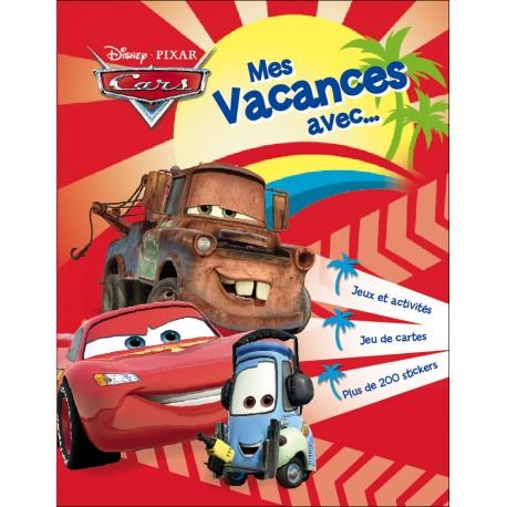 Mes vacances avec Cars - Jeux et activités, jeu de cartes, plus de 200 stickers