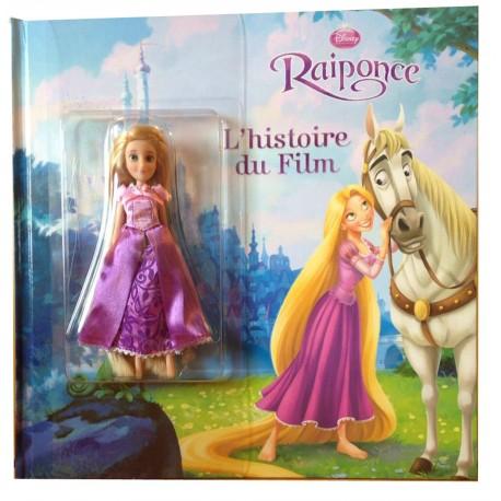 Raiponce - L'histoire du film - Avec 1 poupée