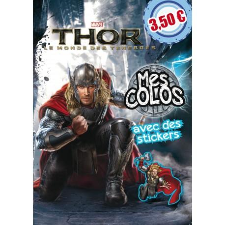 Thor, le monde des ténèbres - Mes colos - avec des stickers