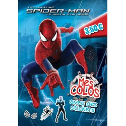 The amazing Spider-man, le destin d'un héros - Mes colos - avec des stickers