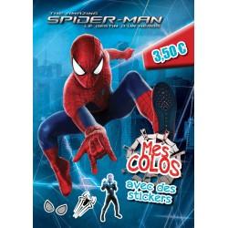 The amazing Spider-man, le destin d'un héros - Mes colos - avec des stickers