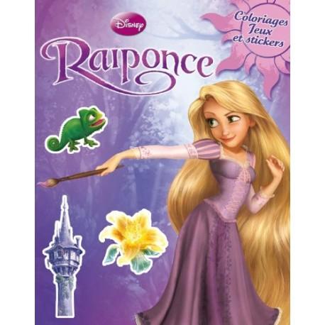 Raiponce - Coloriages, jeux et stickers