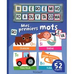 Mes premiers mots - Avec 52 magnets