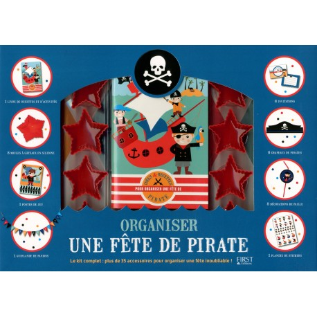 Organiser une fête de pirate - Coffret