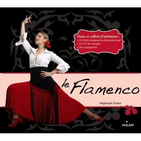 Le Flamenco - Coffret d'initiation - Un livret enseignant la danse pas à pas, un CD de musique, des castagnettes