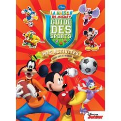 La maison de Mickey - Guide des sports - Mes activités avec des stickers