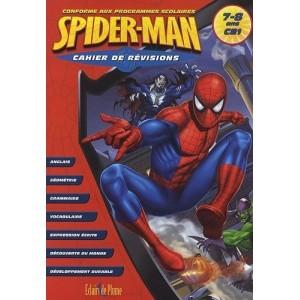 Cahier de révisions Spiderman - 7/8 ans CE1