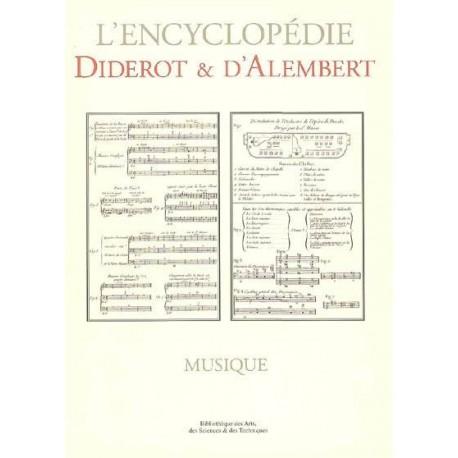 L'encyclopédie Diderot et D'Alembert - Musique