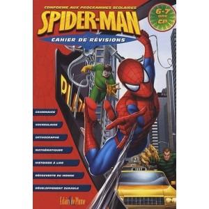 Cahier de révisions Spiderman - 6/7 ans CP