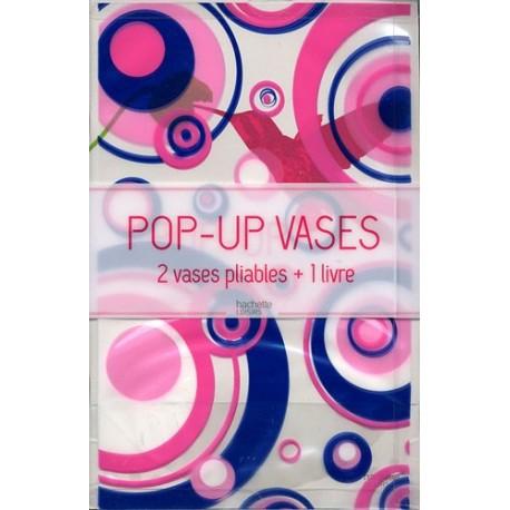 Pop-up Vases - 2 vases pliables + 1 livre (multicolor)