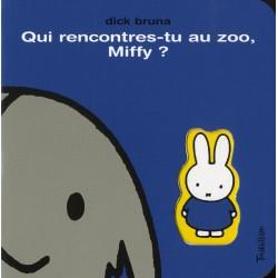 Qui rencontres-tu au zoo, Miffy ?