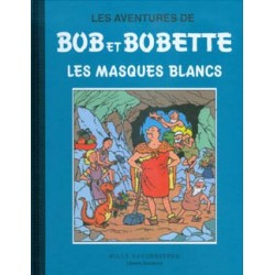 Bob et Bobette - Les Masques Blancs, Tome 7, collection Bleue