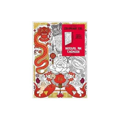Art Thérapie - Coloriage XXL - Nouvel an chinois