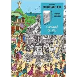 Art Thérapie - Coloriage XXL - Carnaval de Rio