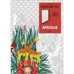Art Thérapie - Coloriage XXL - Afrique