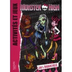 Monster High - Activités et jeux - 100% diabolique