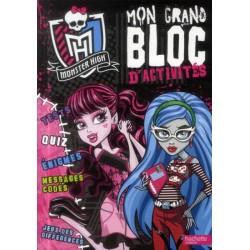 Monster High - Mon grand bloc d'activités