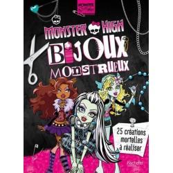 Monster High - Bijoux Monstrueux - 24 créations mortelles à réaliser