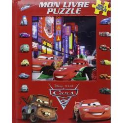 Cars 2 - Mon livre puzzle - Avec 5 puzzles