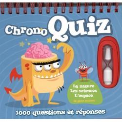 Chrono quiz - 1000 questions et réponses - La nature, les sciences, l'espace et plus encore