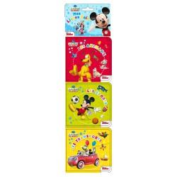 La Maison de Mickey - Mes 3 livres bain - Les sports, Les animaux et Les transports