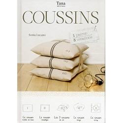 Coussins - 1 patrons - 5 créations