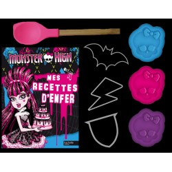 Coffret Monster High - Mes recettes d'enfer