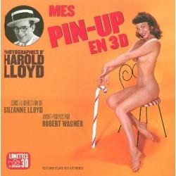 Mes Pin-up en 3D - Photographies d'Harold Lloyd (lunette 3D à l'intérieur)