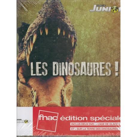 Les dinosaures ! - 2 DVD - L'Age de Glace 3 Le temps des dinosaures + Sur la terre des dinosaures