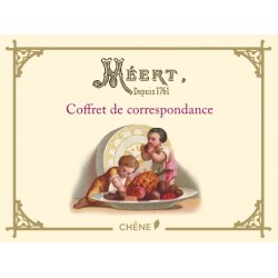 Coffret de correspondance - Méert - Depuis 1761 - 28 cartes doubles illustrées et 28 enveloppes