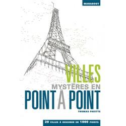 Villes mystères en point à point - 20 villes à dessiner en 1 000 points